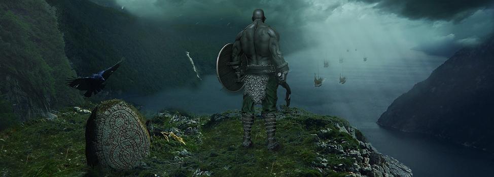 Farouche guerrier montagnard